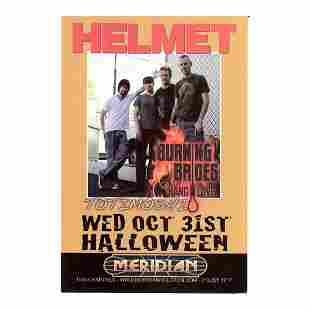 Helmet - 2007 Concert Handbill