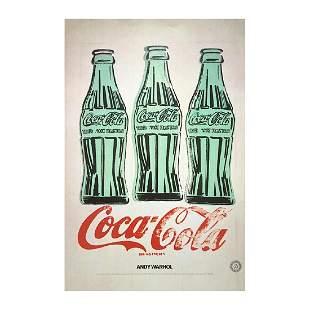 Andy Warhol - Coca Cola Lithograph Print