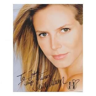Heidi Klum - Autographed Photograph