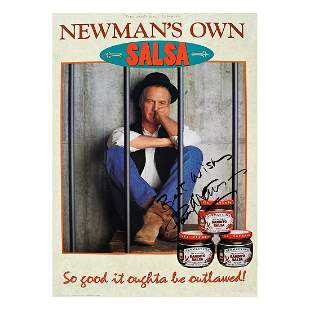 Paul Newman - Autographed Poster