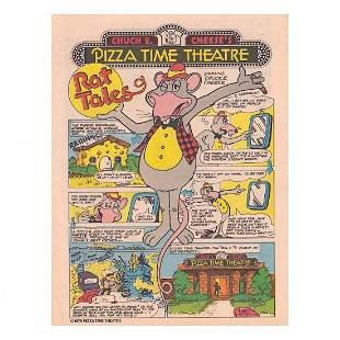 Chuck E. Cheese - 1979 Unreleased Comic Book