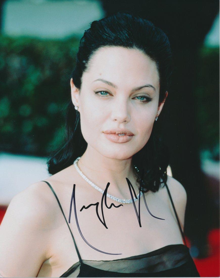 Angelina Jolie Autograph Photograph