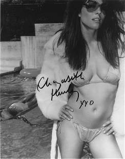 Elizabeth Hurley Autographed Photograph