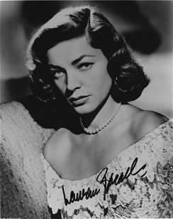 Lauren Bacall Autographed Photograph