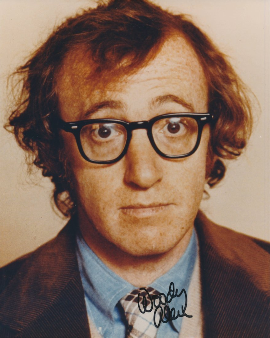 Woody Allen Autographed Photograph