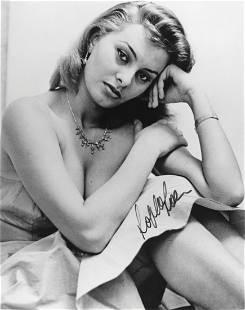 Sohia Loren Autograph Photograph