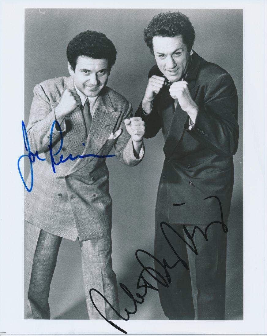 Robert De Niro & Joe Pesci Autographed Photograph