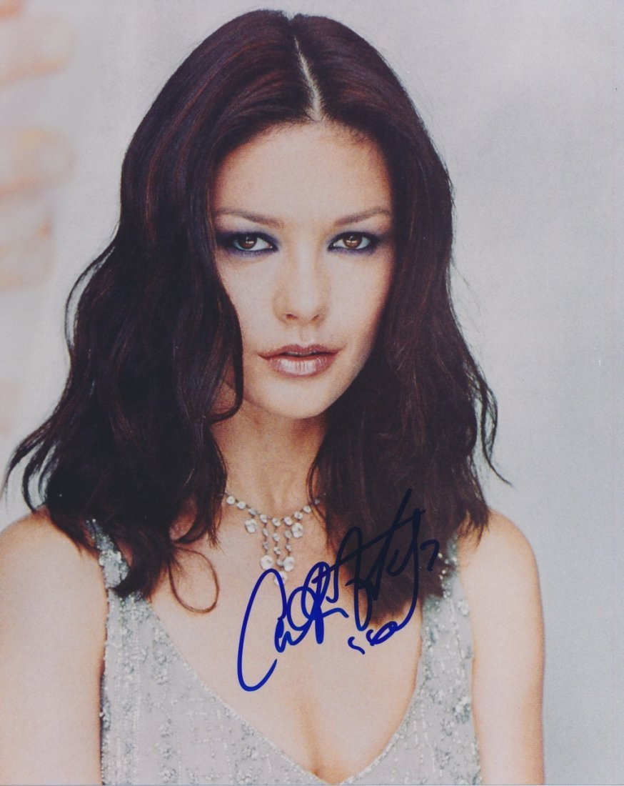 Catherine Zeta Jones Autographed Photograph