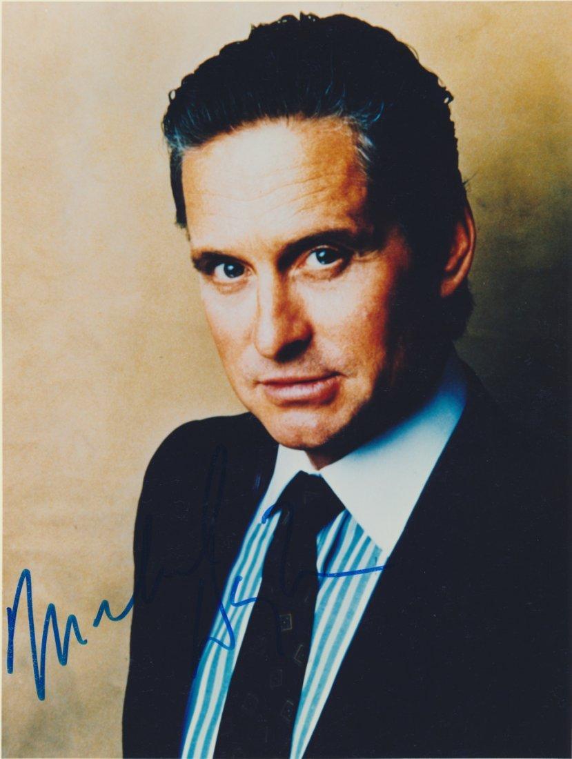 Michael Douglas Autographed Photograph