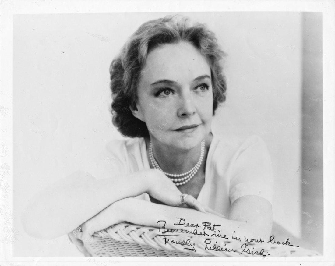 Lillian Gish Autographed Photograph