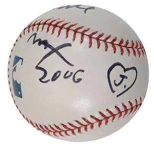 Peter Max Signed Official Major League Baseball