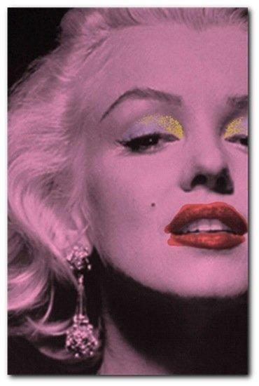 Marilyn Monroe Ltd Edition Signed Print