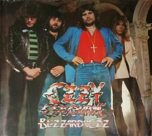 "Ozzy Osbourne Rare ""Blizzard Of Oz"" Poster"