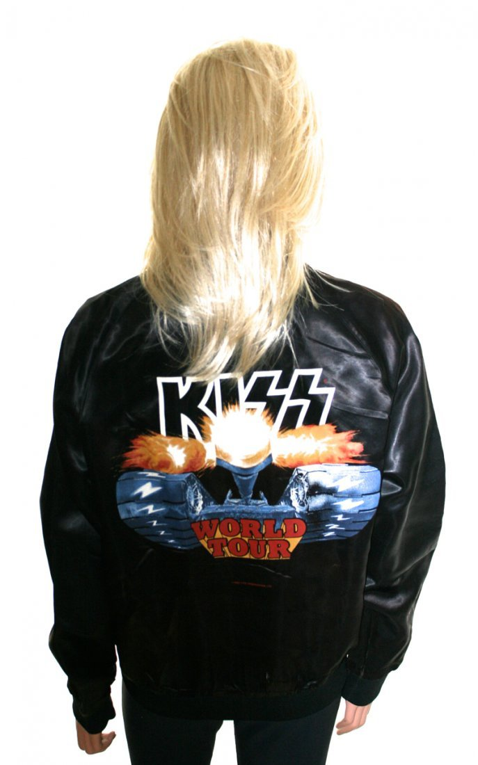 """KISS Official """"Creatures of the Night"""" 1983 Tour Jacket"""