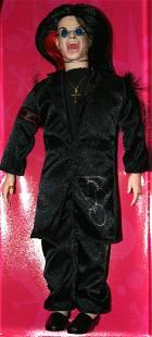 Ozzy Osbourne Autographed 2002 Talking Doll