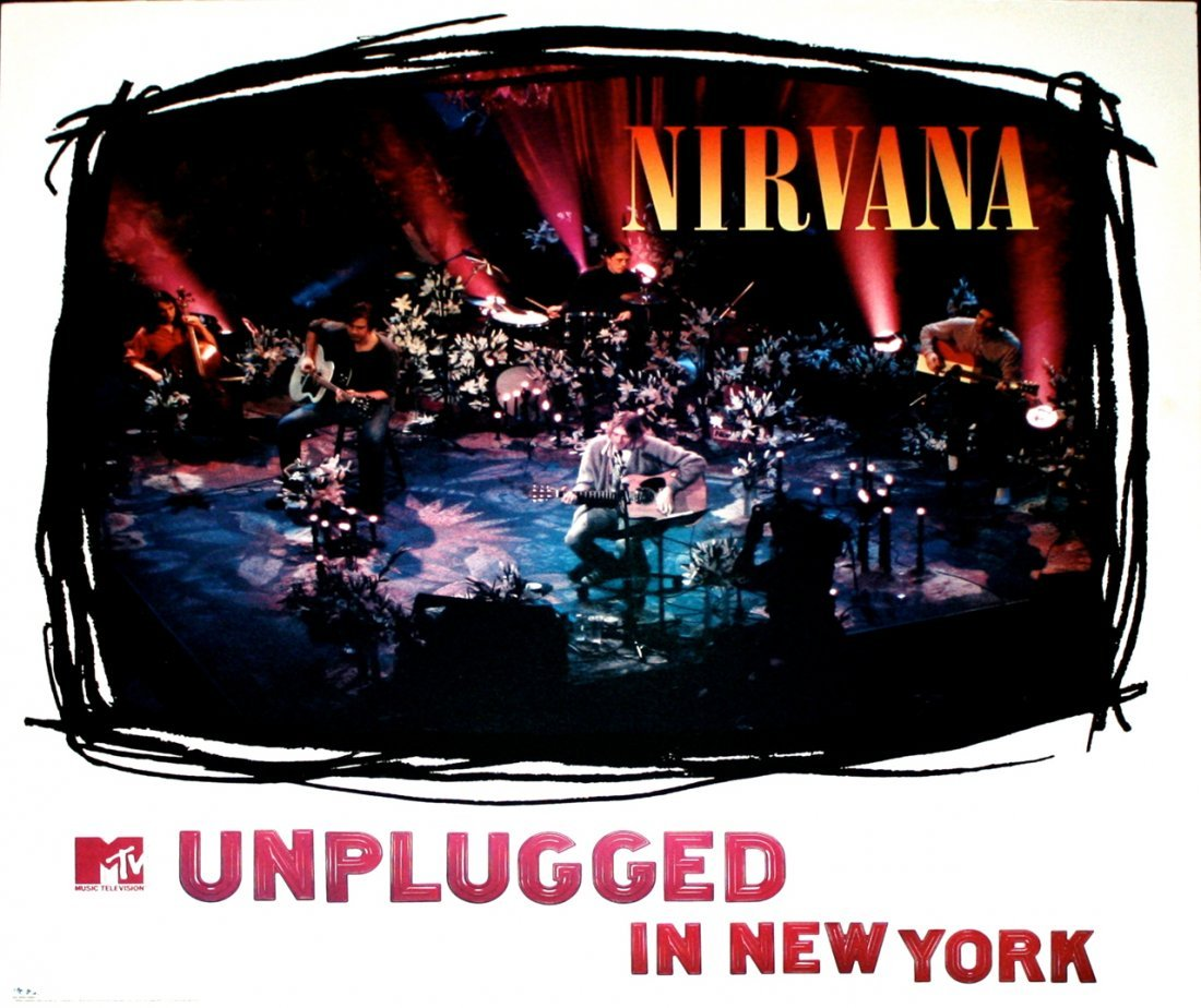 Nirvana Rare Promotional Posters