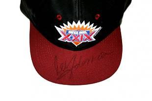 Madonna Signed XXIX Super Bowl Hat