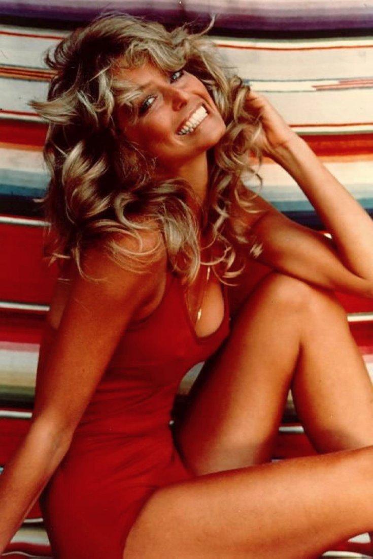 Farrah Fawcett Original 1976 Swimsuit Poster