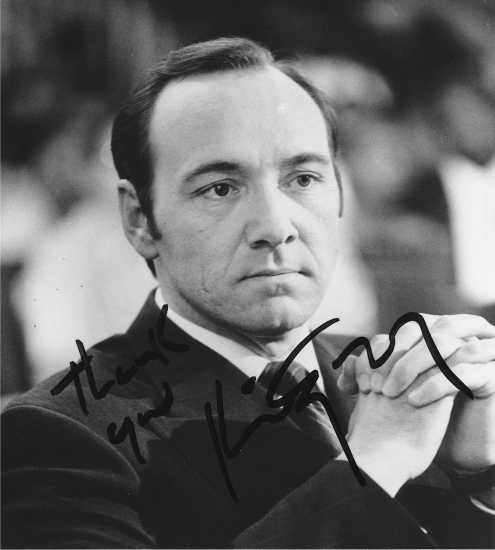 Kevin Spacey Autographed Photograph