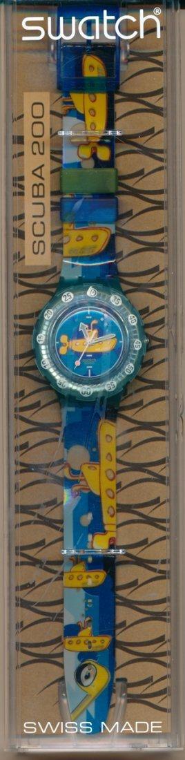 The Beatles Yellow Submarine Swatch Watch