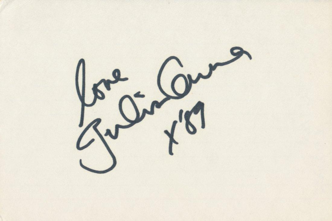 Julian Lennon Autograph