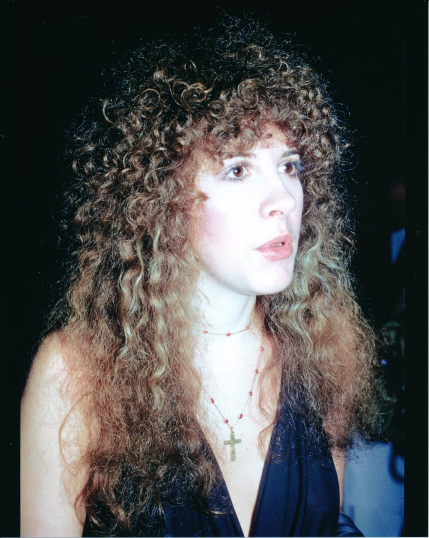 Stevie Nicks Backstage & Casual Unseen Photographs