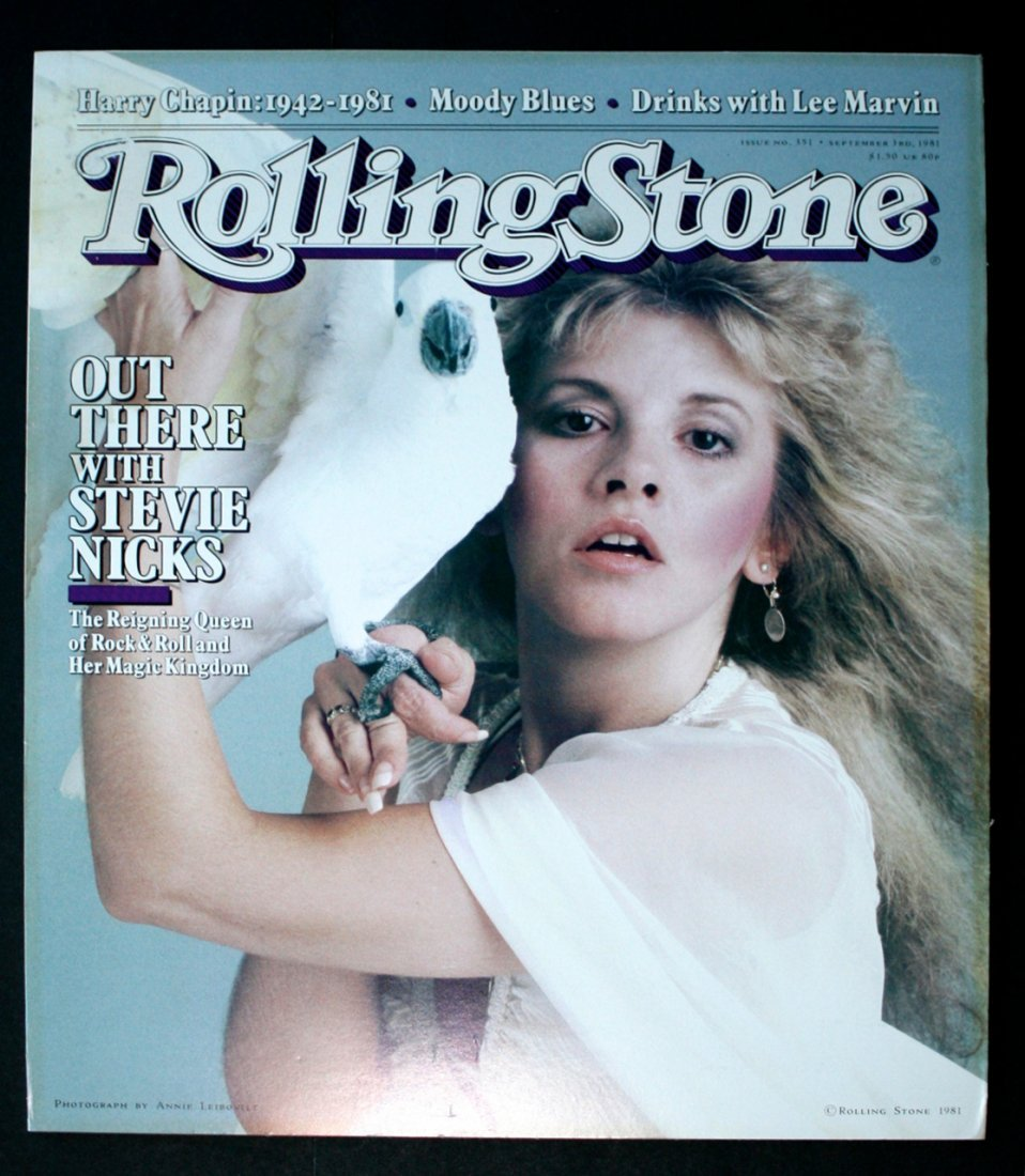 "Stevie Nicks ""Rolling Stone"" Promotional Poster"