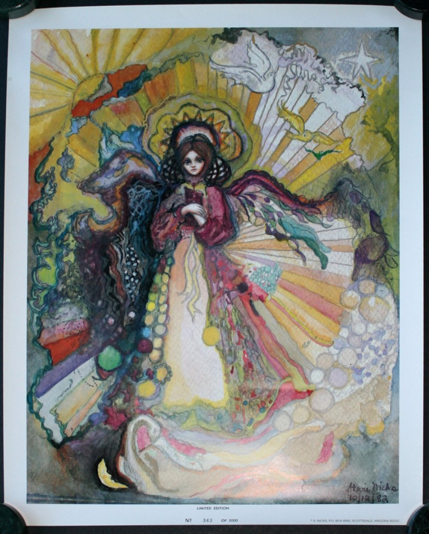 "Stevie Nicks ""Rhiannon"" Limited Edition Poster"