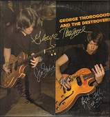 George Thorogood & The Destroyers Autographed Self