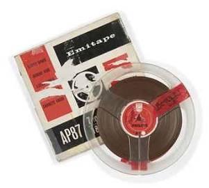 The Beatles 1965 Pirate Radio Reel-to-Reel Tape