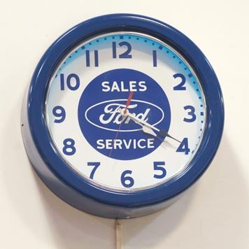 122: 122-Ford Neon Clock