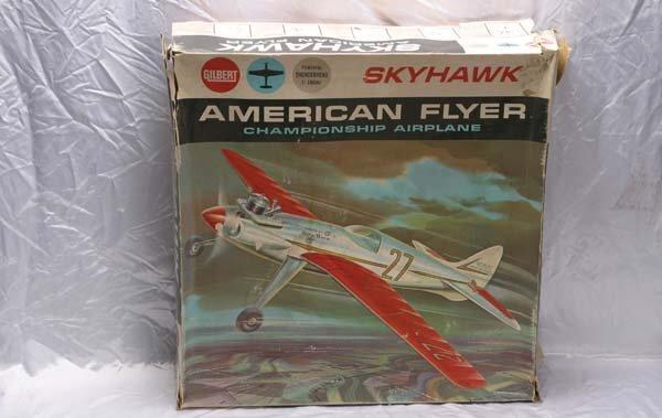 0001: American Flyer Airplane 40010 AF Skyhawk champion