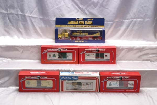 0003: American Flyer Christmas/Freight Cars 22910 Gilbe