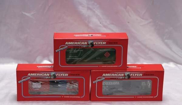 0006: American Flyer Club Cars 48480 NASG 1993 Susqueha