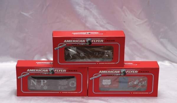 0007: American Flyer Club Cars 48483 AC Gilbert Society