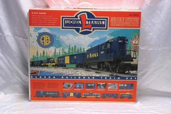0015: Lionel Train Set 11972 Alaska Railroad freight se