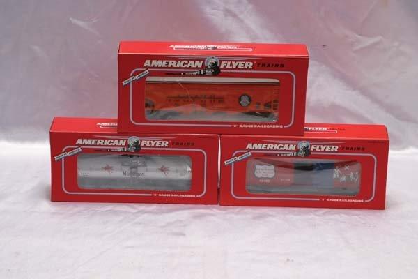 0016: American Flyer Club Cars 48483 AC Gilbert Society