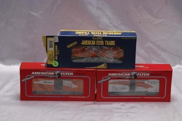 0019: American Flyer Club Cars 48212 TTOS 1999 SP tank