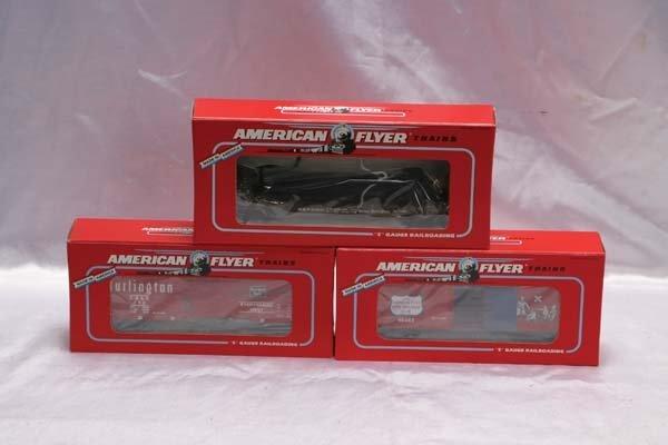0020: American Flyer Club Cars 48478 NASG 1992 Burlingt