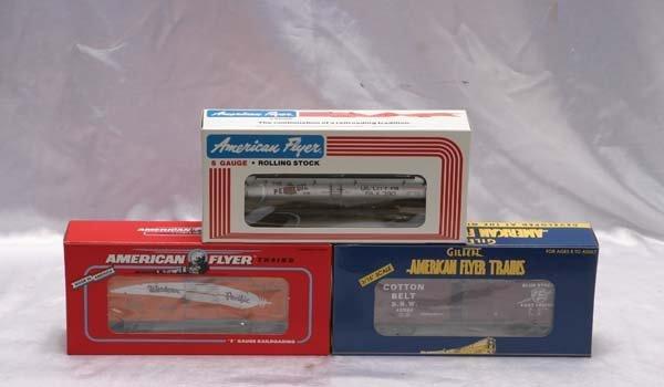 0021: American Flyer Club Cars 48209 TTOS 1998 Cotton B