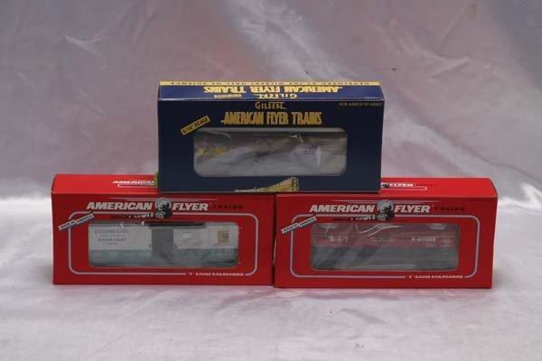 0022: American Flyer Club Cars 48213 TCA 1999 Museum L&