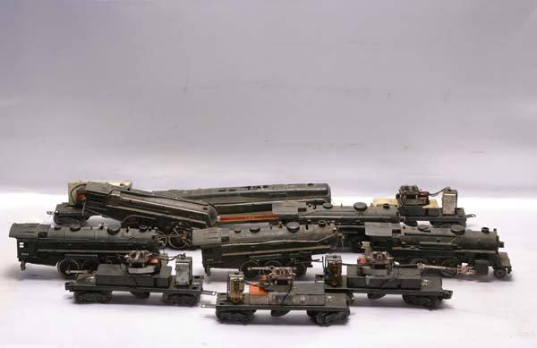 0177: Lionel Parts Assortment of ten each postwar locom
