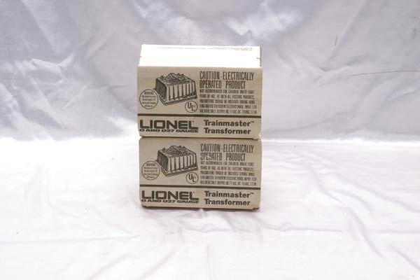 0202: Lionel Accessories (2) 4060 transformers
