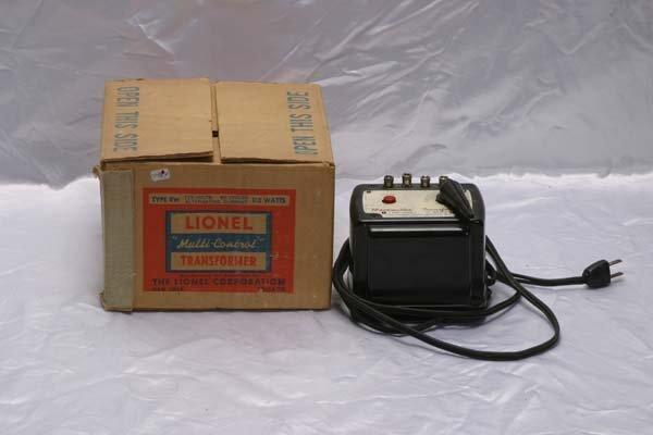 0206: Lionel Accessories RW 110 watts transformer, Type
