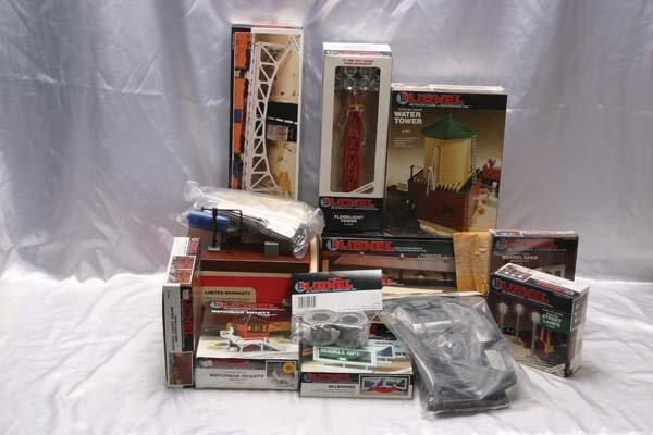 0208: Lionel Accessories 12706 barrel loader kit, 12707