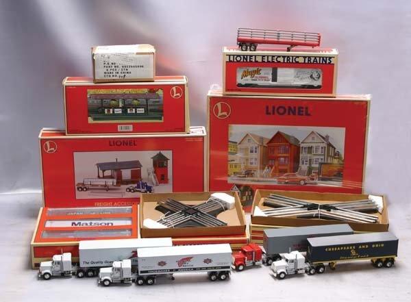 0209: Lionel Accessories (2) 5540 90* crossover, (2) 55