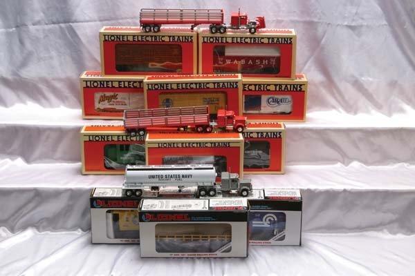0213: Lionel Locomotive/Club/Freight Cars 18926 Reading