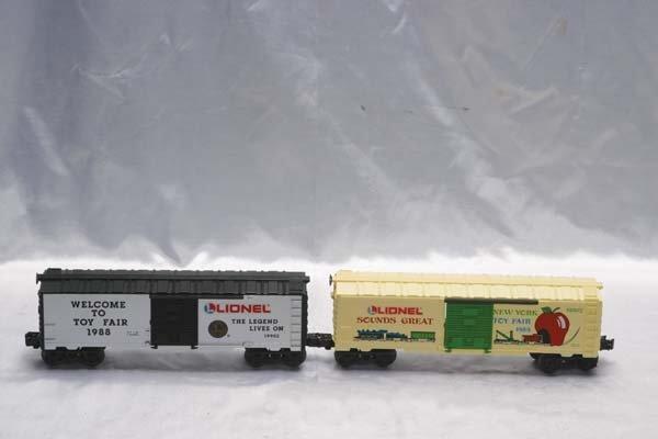 0217: Lionel Club Cars 19902 Toy Fair 1988 boxcar, 1990