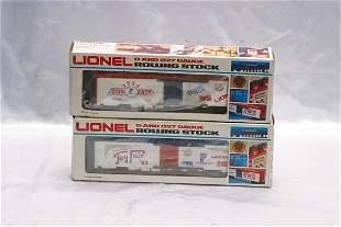 Lionel Club Cars 7521 Toy Fair 1983 reefer, 7523