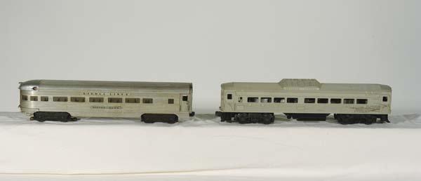 0219: Lionel Engineering Samples-Postwar 400 B&O Budd R